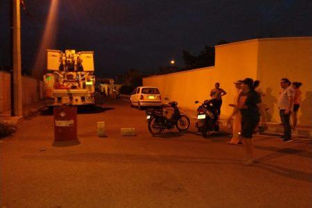 Rebelión contra CFE: vecinos de Ciudad Caucel cierran calles por fallas eléctricas