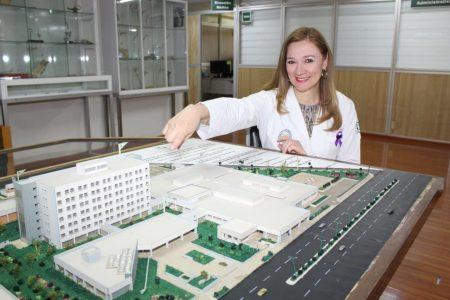 Fryda Medina, una doctora con mucho mérito en el IMSS
