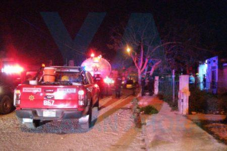 Se incendia su casa por dejar una veladora encendida