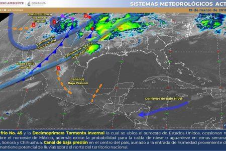 En medio de la cuarentena por Covid-19, pronostican 38 grados para Yucatán