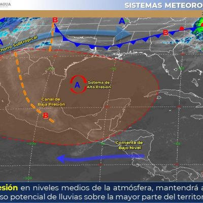 Llega a 40 grados el calor en Yucatán: hoy se espera otra jornada ardiente