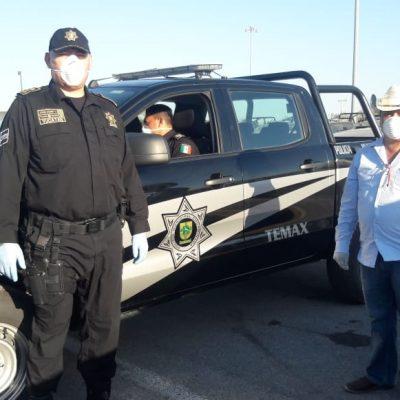 Entregan seis nuevas camioneta equipadas a municipios yucatecos