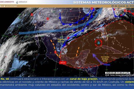 Mérida roza los 40 grados; en Motul fueron 41 grados: para hoy se espera otro infierno