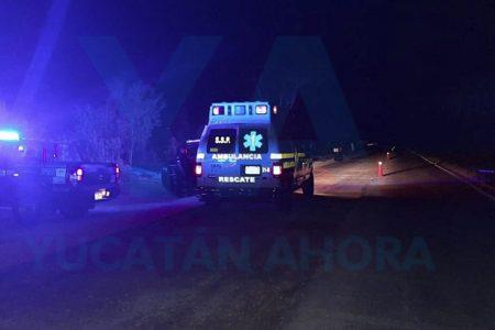 Fatal accidente en carretera: muere una mujer de 78 años