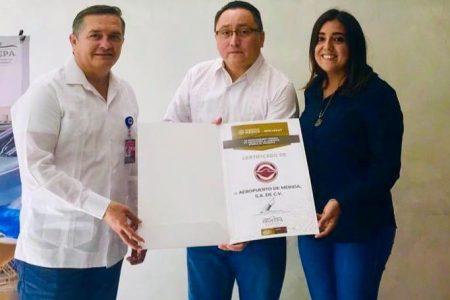 El aeropuerto de Mérida refrenda su compromiso con el medio ambiente