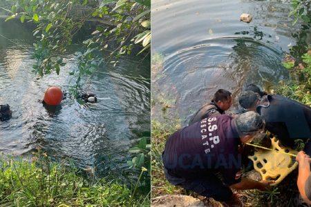 Plomero se ahoga en un cenote: se lanza a buscar un envase y no sale más