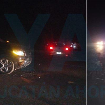 Árbol caído provoca choque y deja un motociclista lesionado