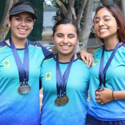 Podios y pases a los Juegos Nacionales para Yucatán en tiro con arco