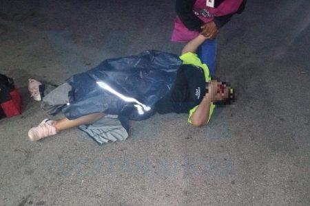 Atropelló a una mujer en La Gas huyendo para no pagar el combustible que cargó