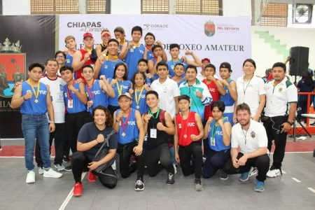 Nueve boletos yucatecos en boxeo para los Juegos Nacionales