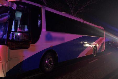 Investigan asalto de autobús: entre los pasajeros estaban los delincuentes