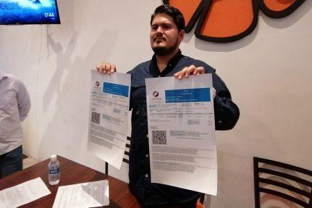Detectan uso de facturas falsas en la Canirac Yucatán