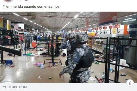 Policía Cibernética procede contra usuarios de redes que incitan al saqueo de tiendas