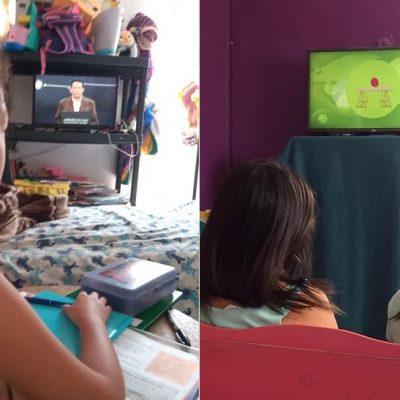 Estudiantes yucatecos aprovechan las clases en línea de la SEP