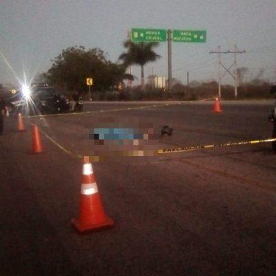 Instructor de artes marciales sufre fatal accidente de moto en la vía Mérida-Tizimín