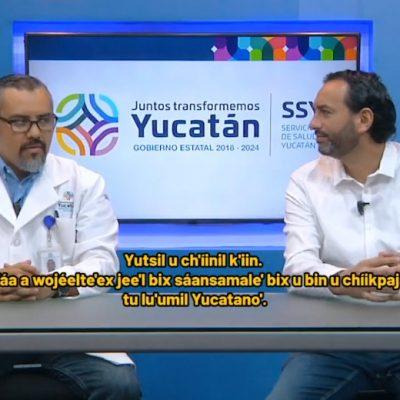 Desmiente la SSY que haya una bebé con Covid-19 en Yucatán