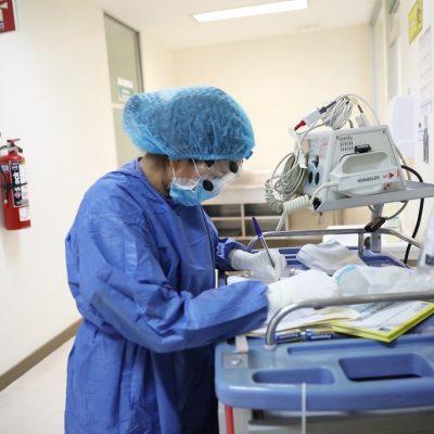 En hospitales cinco casos de Covid-19 en Yucatán: están graves pero estables