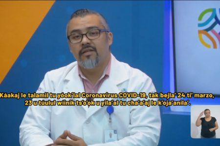 Ya son 23 casos de Covid-19 en Yucatán, pero cinco ya vencieron al coronavirus