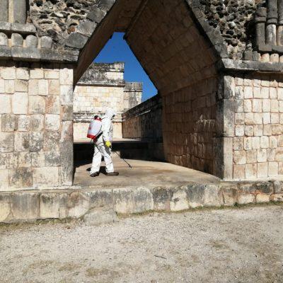 Por Covid-19, cierran todas las zonas arqueológicas de Yucatán