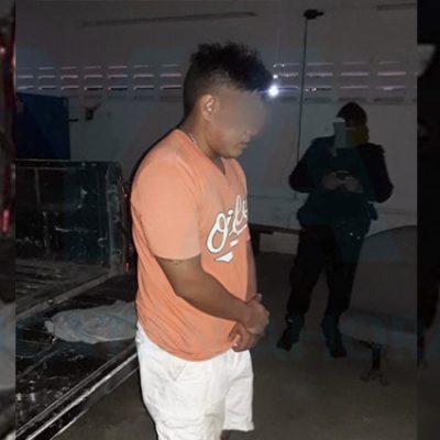 Aprovechó la solitaria madrugada para robar en una gasolinera