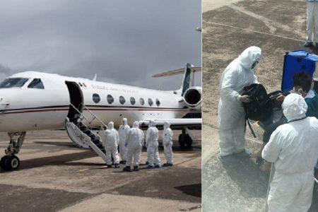 Cada vez más cerca de casa: llega avión militar a rescatar a profesora yucateca en Perú