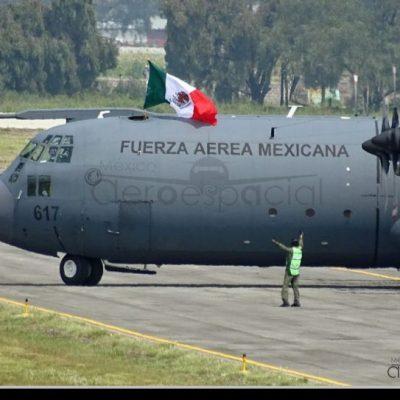 Fuerza Aérea traerá a mexicanos varados en Argentina