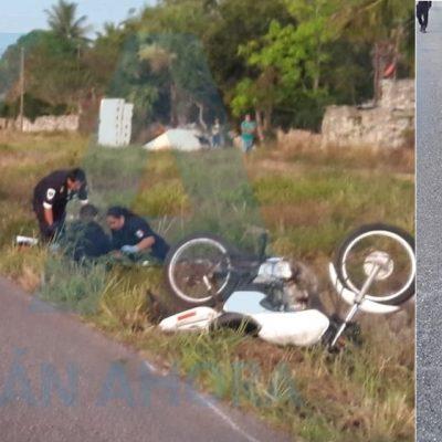 Hace derrapar a un motociclista, pero pierde sus 'siete vidas' de un jalón
