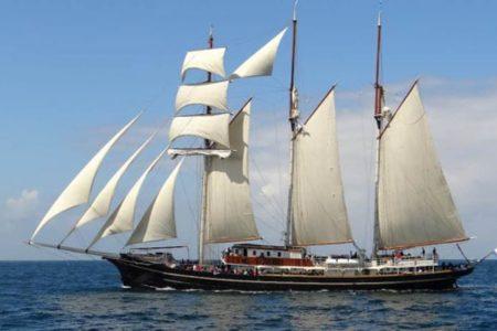 Regresó a Yucatán velero holandés: atracó ayer por la tarde en Progreso