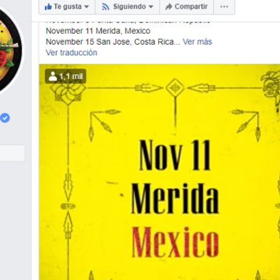 Guns N' Roses confirma concierto en Mérida para el 11 de noviembre de 2020