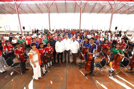 Coros y Orquestas, acercan a niños y jóvenes yucatecos a la música