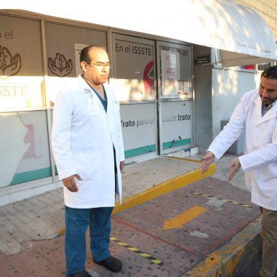 Habilitan el Hospital del Issste en Pensiones para recibir pacientes de Covid-19