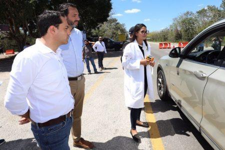 Vigilancia 24/7 en la zona por donde entró el Covid-19 a Yucatán