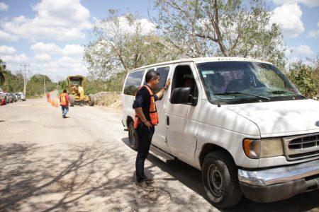 Inician trabajos de conservación de la carretera Pencuyut-Tekax
