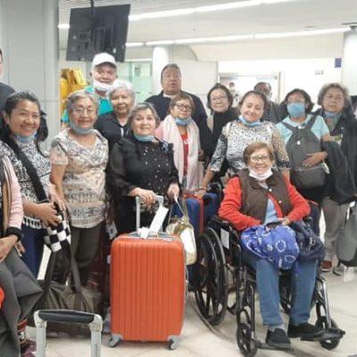 Retornan a Mérida yucatecos que estaban varados en Perú