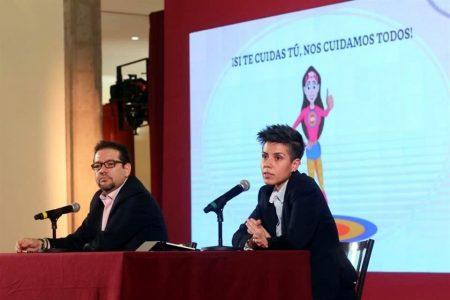 Cifras nacionales de Covid-19 reportan el caso de una bebé contagiada en Yucatán