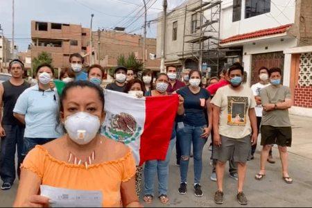 Mexicanos varados en Perú denuncian malos tratos de la embajada mexicana