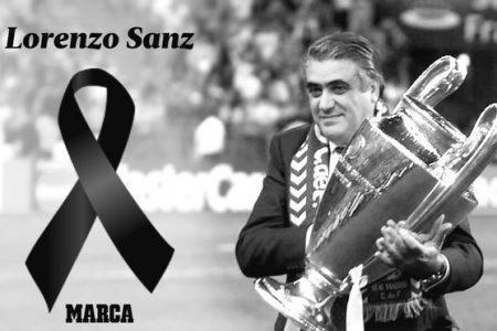 Muere por Covid-19 Lorenzo Sanz, ex presidente del Real Madrid