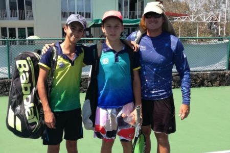 Tenistas yucatecos obtienen su pase a los Juegos Nacionales