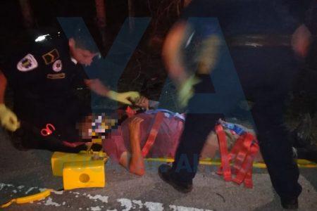 Trágico accidente en la Mérida-Cancún: una mujer fallecida y dos lesionados