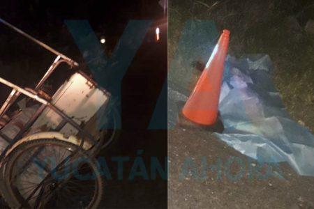 Fallece abuelito de 75 años: taxista embiste su triciclo… y ni siquiera se detiene