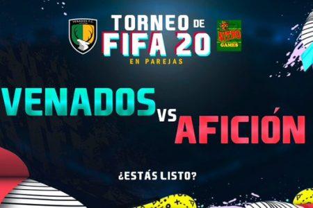 Los Venados retan a su afición… en un torneo de FIFA 20
