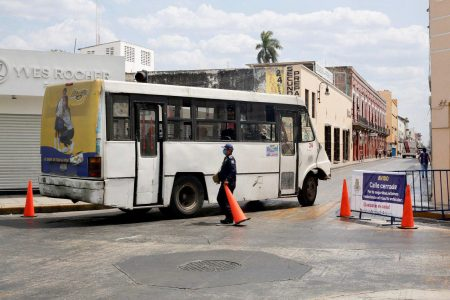 Cierre de calles del Centro Histórico permite desahogo vehicular de particulares del 80 por ciento