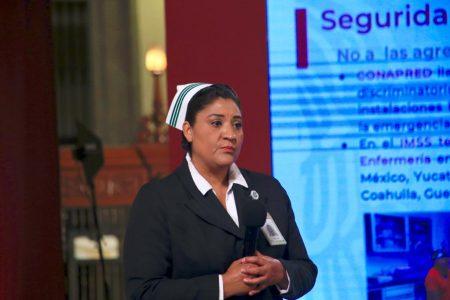 Jefa de enfermería del IMSS piden que cesen agresiones contra el personal de salud