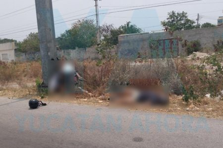 Fatal choque de una motocicleta: un muerto y uno herido de gravedad