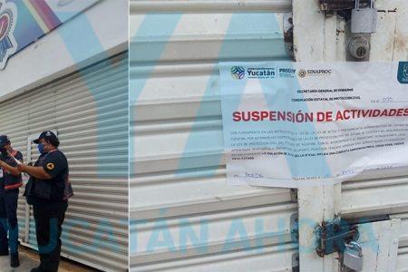 Por negarse a cerrar, clausuran tienda de pinturas en la Dolores Otero