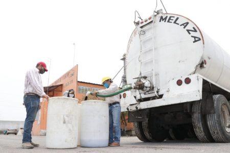 Entregan mil toneladas de melaza a ganaderos de Yucatán, por la sequía