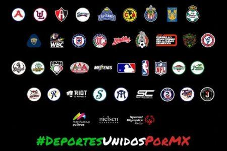 """Leones de Yucatán se unen a la iniciativa """"Deportes Unidos Por México"""""""