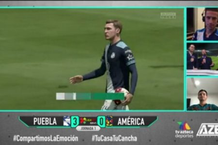 Santiago Ormeño es la sensación de la eLigaMX por golear al América