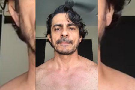 Actor avecindado critica a Mérida porque se enfermó de tifoidea y creyó que era Covid-19