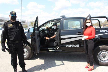 Gobierno de Yucatán apoya a más municipios con vehículos policiacos